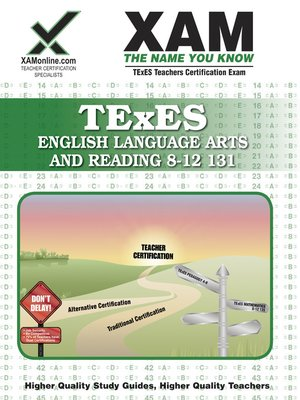 cover image of TExES English Lang-Arts and Reading 8-12 131