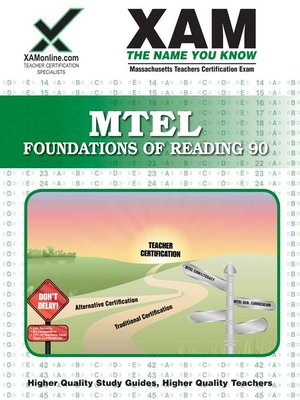 cover image of MTEL Foundations of Reading 90 (requirement all El. Ed)
