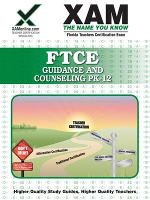 cover image of FTCE Guidance and Counseling PK-12