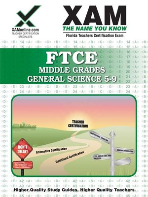cover image of FTCE Middle Grades General Science 5-9