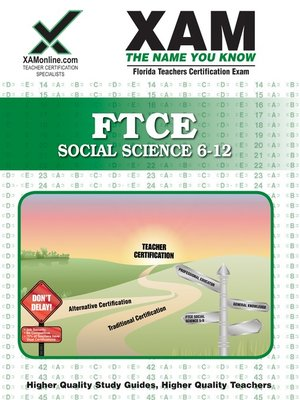 cover image of FTCE Social Science 6-12