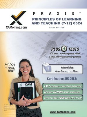 cover image of PRAXIS Principles of Learning and Teaching (7-12) 0524