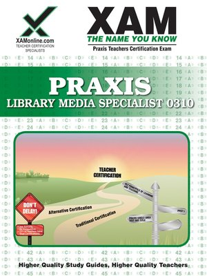 cover image of PRAXIS Library Media Specialist 0310