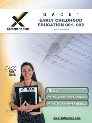 cover image of GACE Early Childhood Education 001, 002