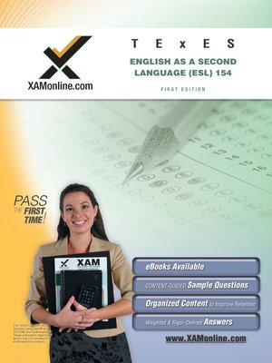 cover image of TExES English as Second Language (ESL) 154