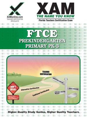 cover image of FTCE Prekindergarten/Primary PK-3
