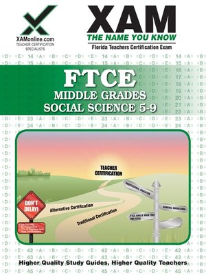 cover image of FTCE Middle Grades Social Science 5-9
