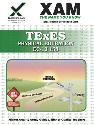 cover image of TExES Physical Education EC-12 158