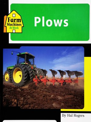 cover image of Plows