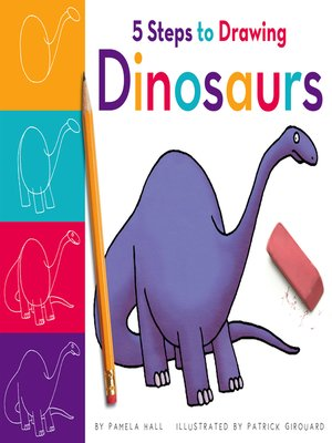 cover image of 5 Steps to Drawing Dinosaurs