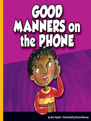 cover image of Good Manners on the Phone