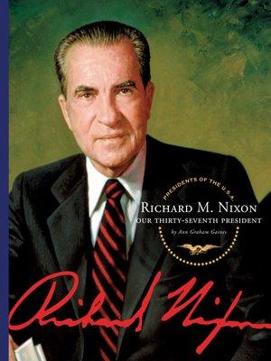 cover image of Richard M. Nixon