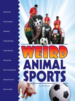 cover image of Weird Animal Sports