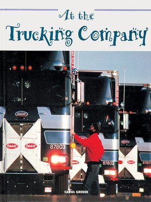 cover image of At the Trucking Company