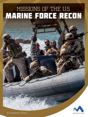 cover image of Missions of the U.S. Marine Force Recon