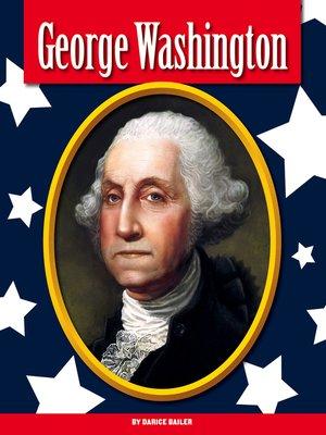 cover image of George Washington