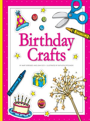 cover image of Birthday Crafts