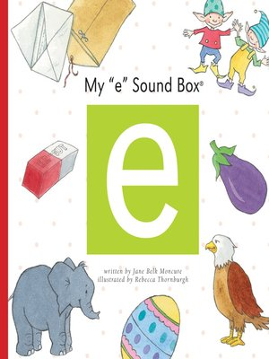 cover image of My 'e' Sound Box