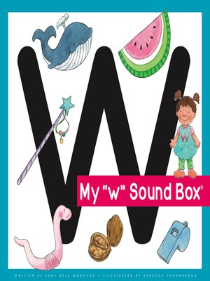 cover image of My 'w' Sound Box