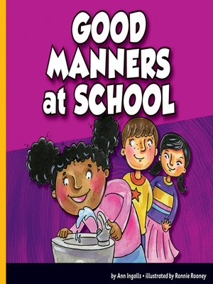 cover image of Good Manners at School