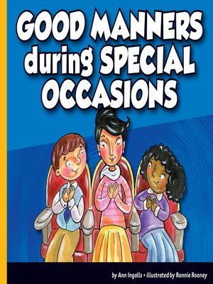 cover image of Good Manners during Special Occasions