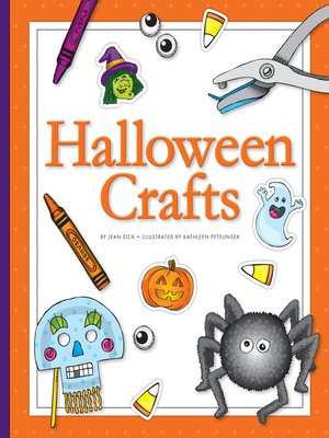 cover image of Halloween Crafts