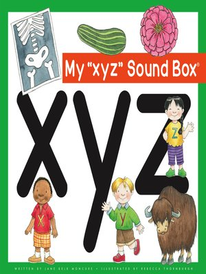 cover image of My 'xyz' Sound Box