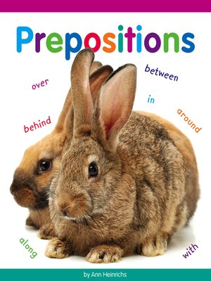 cover image of Prepositions