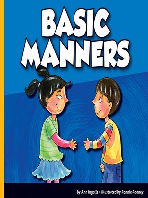 cover image of Basic Manners