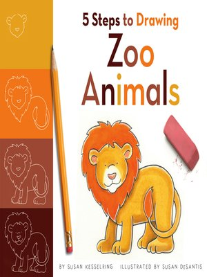 cover image of 5 Steps to Drawing Zoo Animals