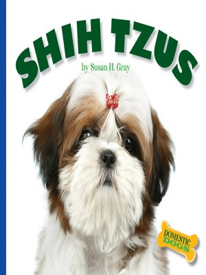 cover image of Shih Tzus