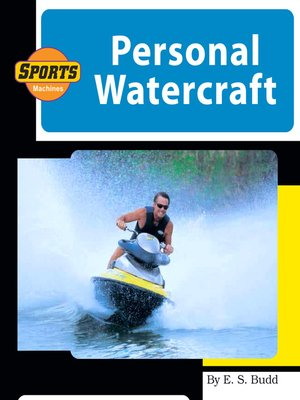 cover image of Personal Watercraft