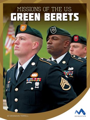 cover image of Missions of the U.S. Green Berets