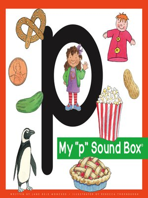cover image of My 'p' Sound Box