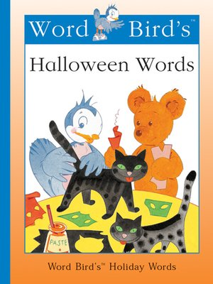 cover image of Word Bird's Halloween Words