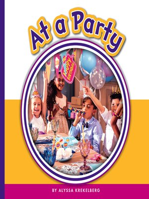 cover image of At a Party