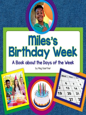 cover image of Miles's Birthday Week