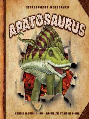 cover image of Apatosaurus