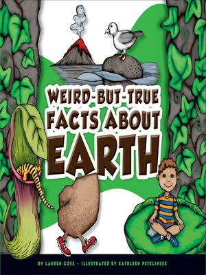 cover image of Weird-but-True Facts about Earth