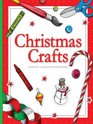 cover image of Christmas Crafts