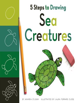 cover image of 5 Steps to Drawing Sea Creatures