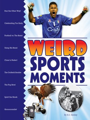 cover image of Weird Sports Moments