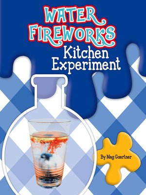 cover image of Water Fireworks Kitchen Experiment
