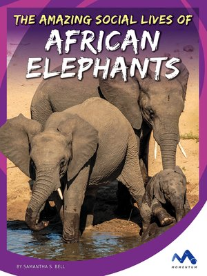 cover image of The Amazing Social Lives of African Elephants