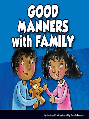 cover image of Good Manners with Family