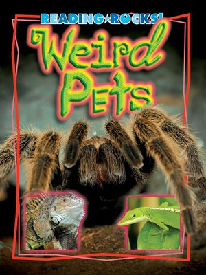 cover image of Weird Pets