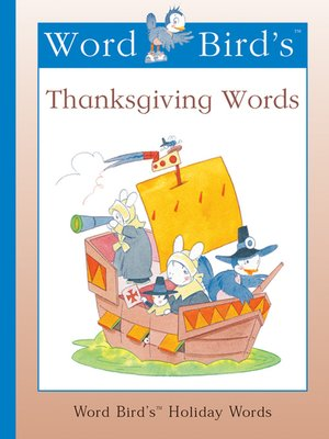 cover image of Word Bird's Thanksgiving Words