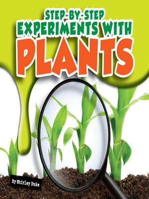 cover image of Step-by-Step Experiments with Plants