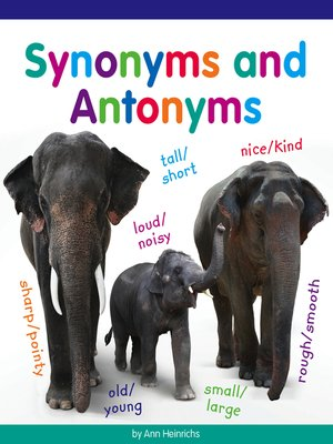 cover image of Synonyms and Antonyms