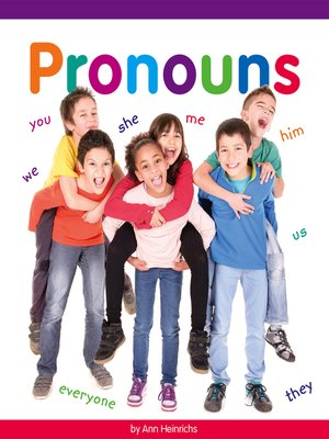 cover image of Pronouns